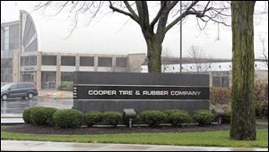 Cooper Tire and Rubber Company in Findlay Ohio